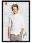Black Wooden Framed Niall Horan One Direction