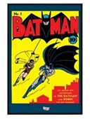 Gloss Black Framed The Brand new Adventures of Batman and Robin DC Comics