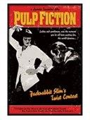 Gloss Black Framed Jackrabbit Slim's Twist Contest Pulp Fiction