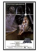 Gloss Black Framed A New Hope Original Movie Score Star Wars