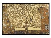 Gloss Black Framed The Tree Of Life, Stoclet Frieze Gustav Klimt