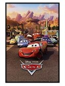 Gloss Black Framed Characters From Cars Disney Pixar