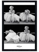 Black Wooden Framed Marilyn Monroe Ballerina Sequence Marilyn Monroe