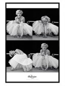 Gloss Black Framed Marilyn Monroe Ballerina Sequence Milton H Greene