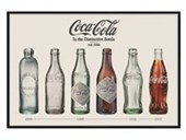 Gloss Black Framed Evolution Coca Cola