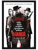 Black Wooden Framed Tarantino Masterpiece Django Unchained