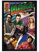 Black Wooden Framed Bazinga! The Big Bang Theory