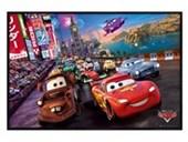 Gloss Black Framed The Race Cars: The Movie