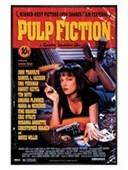 Gloss Black Framed Tarantino Classic Pulp Fiction