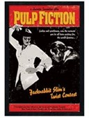 Black Wooden Framed Jackrabbit Slim's Twist Contest Pulp Fiction