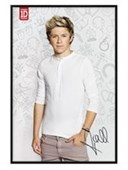 Gloss Black Framed Niall Horan One Direction