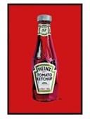 Gloss Black Framed Heinz Tomato Ketchup Orla Walsh