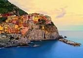 Cinque Terre Coastline Italy