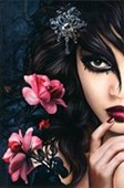 Midnight Rose Enchanted Beauty