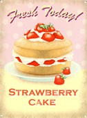 Fresh Today! Strawberry Cake