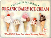 Organic Dairy Ice Cream Oldfield Farms
