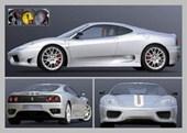 A Close Look at The Ferrari Ferrari 360 Challenge Stradale