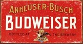 Budweiser Weathered Sign