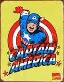 Retro Captain America Marvel Comics