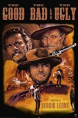 The Good, The Bad and The Ugly Sergio Leone Classic Western