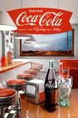 Retro Diner Vintage Coca Cola