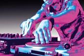 DJ Heaven Neon Turntable