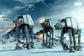 Battle on the Planet Hoth Star Wars