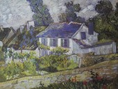 House in Auvers Vincent Van Gogh
