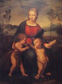 Madonna of the Goldfinch Raffaello
