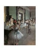 La Classe Di Danza Edgar Degas