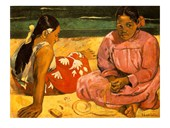 Women of Tahiti Paul Gauguin