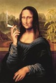 Mona Lisa with Joint An Iconic Smile