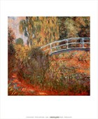 Japanese Bridge Claude Monet