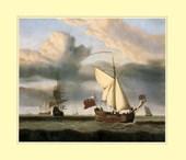 The Yacht 'Royal Escape' Willem van de Velde