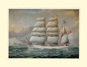 The Ship 'Claudia' Antonio Jacobsen
