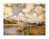 Sainte Cloud Alfred Sisley