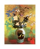 Fleurs Exotiques Dans Une Potiche Odilon Redon