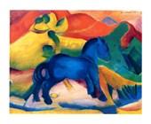 Blaues Pferdchen Franz Marc