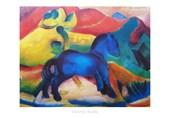 Blue Horse Franz Marc