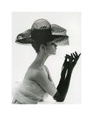 Madame Paulette in Net Hat 1963 John French