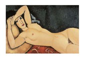 Elongated Female Nude Amedeo Modigliani