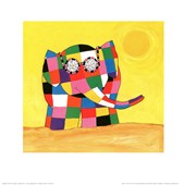Elmer In The Sun David Mckee