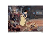 Let's Clean the House and Surprise Them! Snow White & the Seven Dwarfs