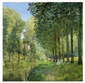 Resting by the Stream Alfred Sisley