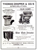 Classic Closets Thomas Crapper and Co