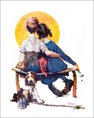 First Love Norman Rockwell