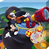 Mickey and Goofy Fooling Around Mickey Mouse Clubhouse
