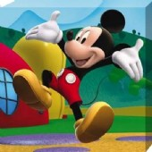 Jumping for Joy Mickey Mouse