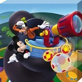 Mickey and Goofy on the Lookout! Mickey Mouse Clubhouse