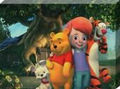 Darby, Tigger, Pooh and Buster Disney's My Friends Tigger & Pooh